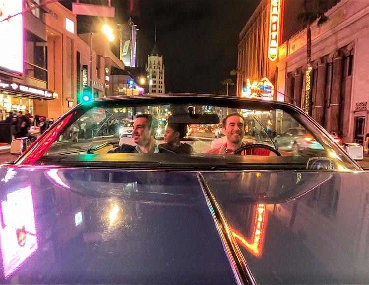 Cadillac el Dorado la nuit